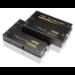 Aten VE150A AV transmitter & receiver Black AV extender