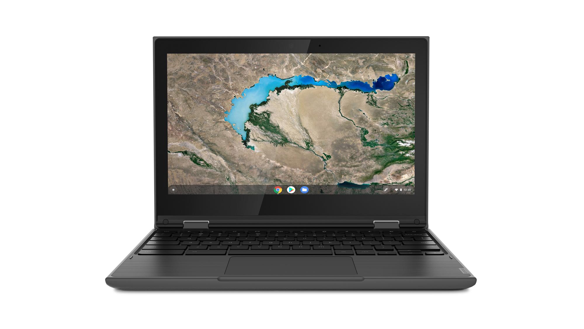 "Lenovo 300e Chromebook 29.5 cm (11.6"") Touchscreen HD Intel-� Celeron-� N 4 GB LPDDR4-SDRAM 32 GB eMMC Wi-Fi 5 (802.11ac) Chrome OS Black"