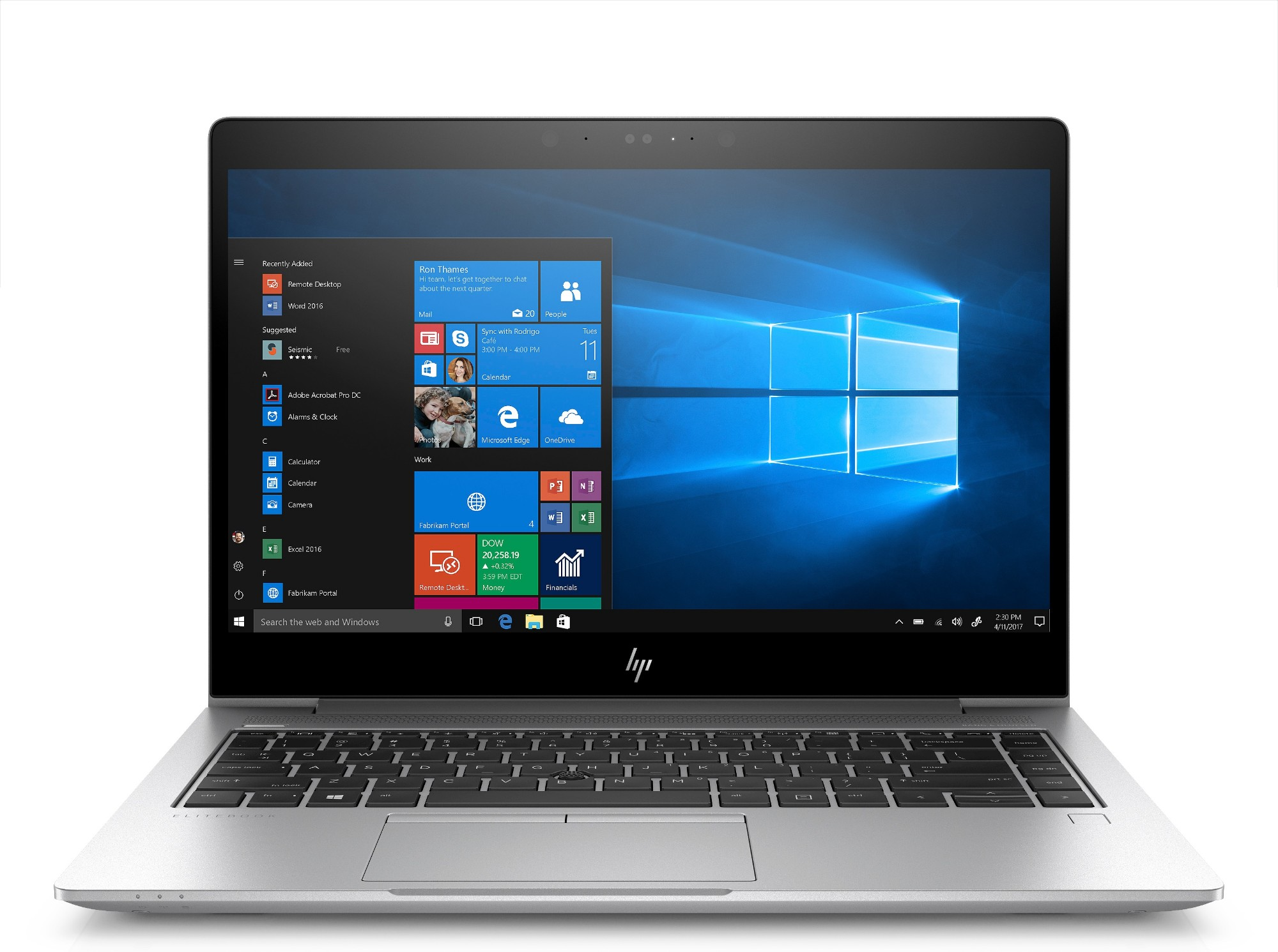 HP EliteBook 840 G5 3JY06ET#ABU Core i7-8550U 8GB 256GB SSD 14IN FHD BT CAM Win 10 Pro