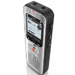 Philips Voice Tracer 2000 dictaphone Interner Speicher & Flash-Karte Schwarz, Silber