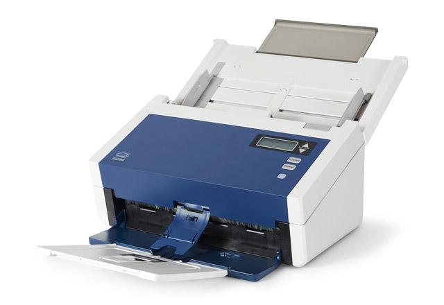 Xerox DocuMate 6460 600 x 600 DPI Escáner con alimentador automático de documentos (ADF) Azul, Blanco A4