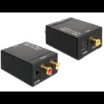 DeLOCK 62444 audio converter Black