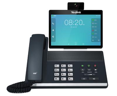 Yealink SIP-VP59 IP phone Grey Wired handset IPS Wi-Fi
