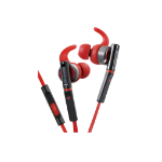 Kenwood Electronics KH-SR800-R mobile headset Binaural In-ear Black,Red