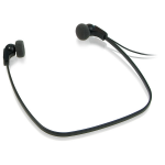 Philips LFH0334 Intraaural Under-chin Black
