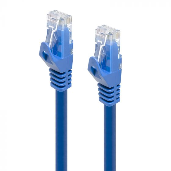 ALOGIC Blue CAT6 LSZH network Cable -Wired as 568B, Comply with EU Specification 0.5 m