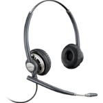 Plantronics Encorepro HW 720D headset Binaural Head-band Black, Silver
