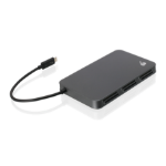iogear GTR360 card reader Grey Thunderbolt 3