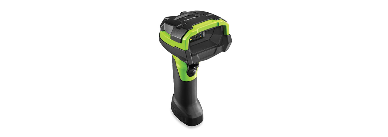 Zebra DS3608-HD Handheld 1D/2D Black,Green