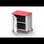 NUWCO PlasCart Portable device management cart Grey, Red