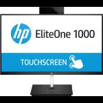 "HP EliteOne 1000 G2 60.5 cm (23.8"") 1920 x 1080 pixels Touchscreen 3.2 GHz 8th gen Intel® Core™ i7 i7-8700 Black All-in-One PC"