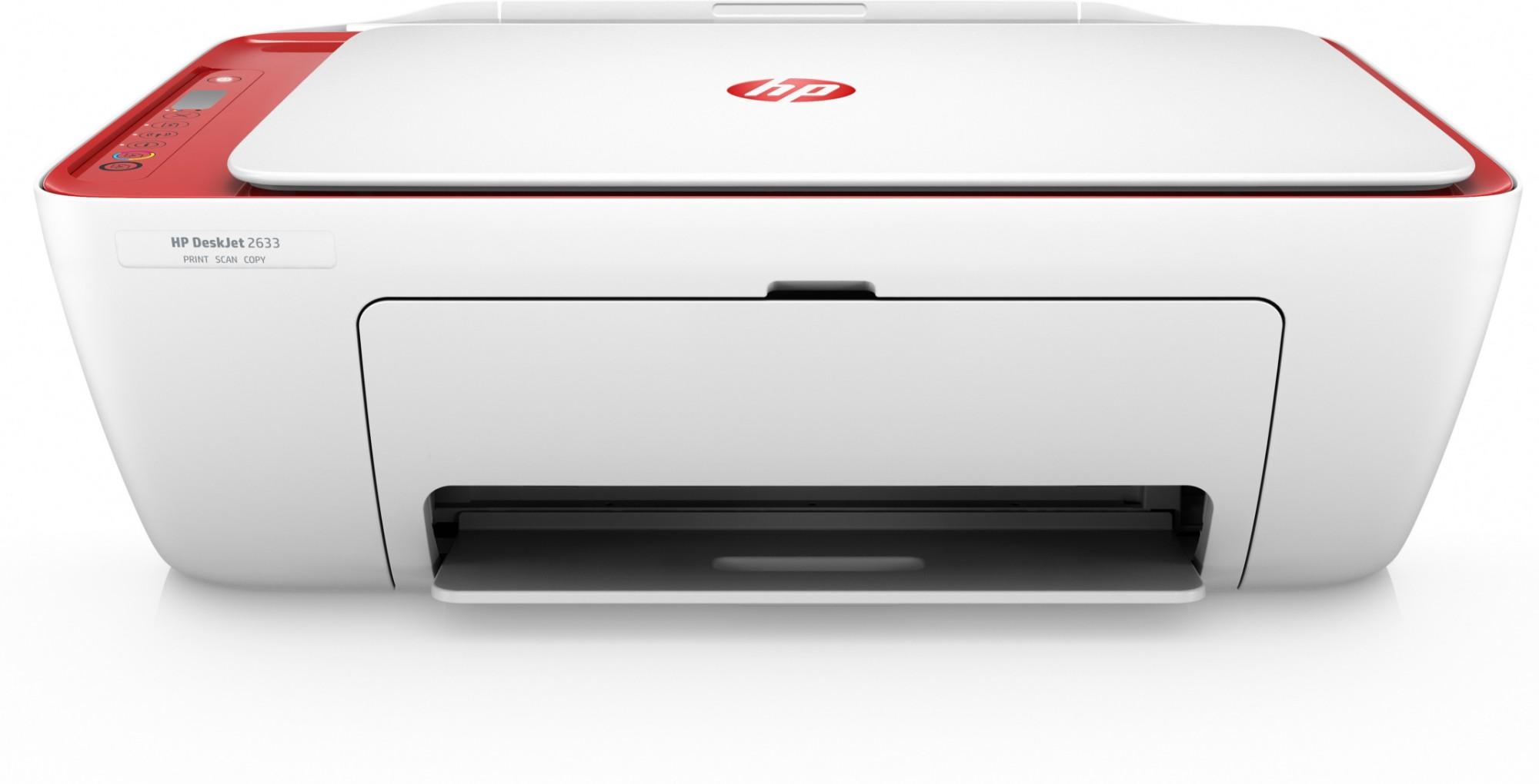 HP DeskJet 2633 AiO 4800 x 1200DPI Thermal Inkjet A4 7.5ppm Wi-Fi