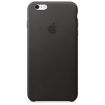 Apple iPhone 6s Plus Leather Case - Black