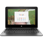 "HP Chromebook x360 11 G1 Silver 29.5 cm (11.6"") 1366 x 768 pixels Touchscreen Intel® Celeron® 4 GB LPDDR4-SDRAM 32 GB eMMC Chrome OS"