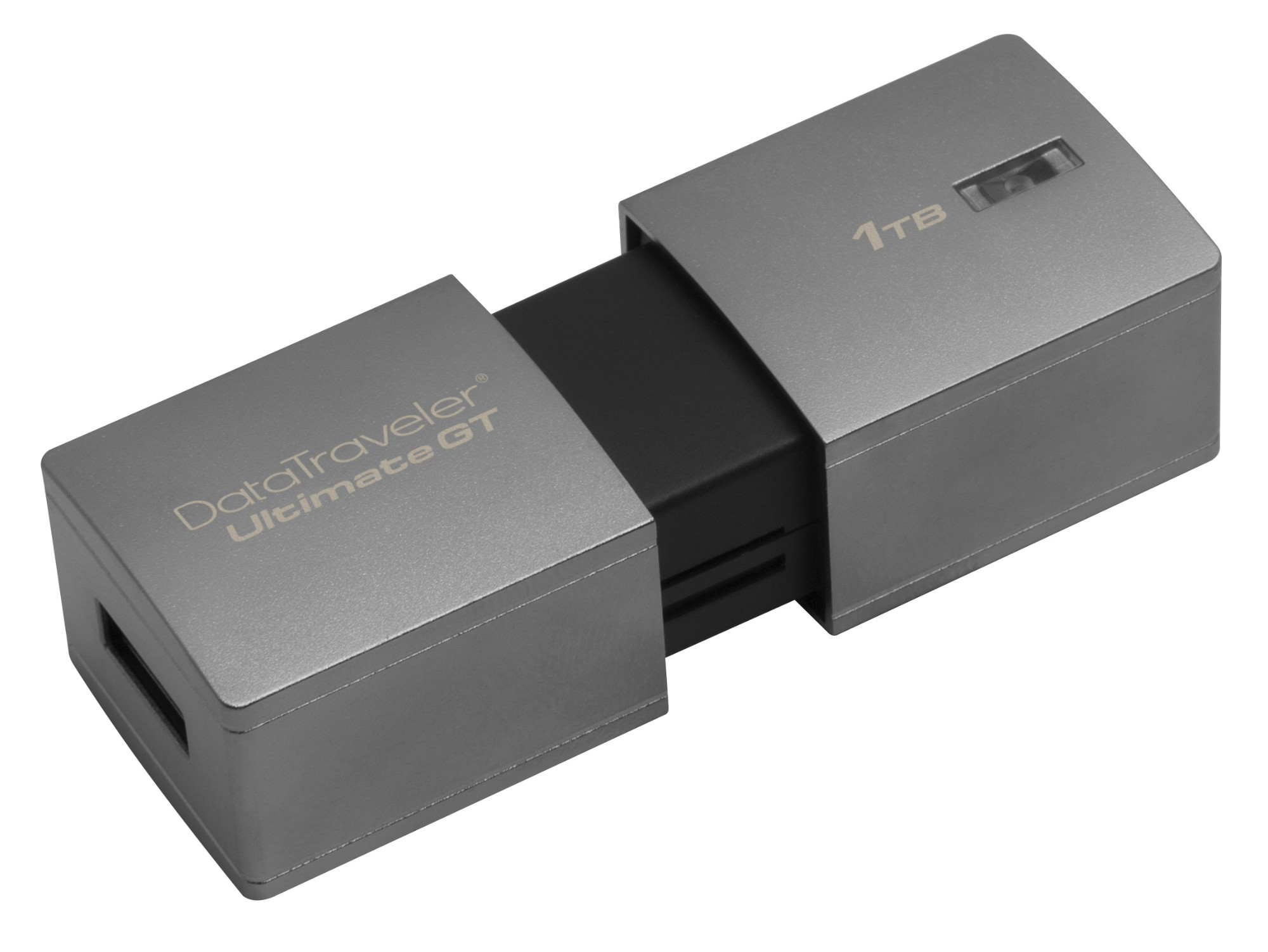 Kingston Technology DataTraveler DTUGT/1TB 1000GB USB 3.0 (3.1 Gen 1) USB Type-A connector Silver USB flash drive