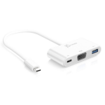 j5 create JCA378 USB graphics adapter 1920 x 1080 pixels White