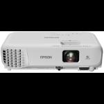 Epson EB-W05 Desktopprojector 3300ANSI lumens 3LCD WXGA (1280x800) Wit beamer/projector