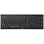 HP K2500 keyboard RF Wireless Black
