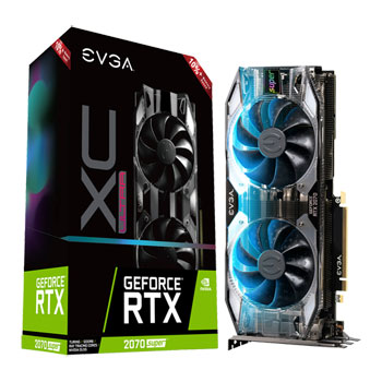 EVGA 08G-P4-3175-KR graphics card NVIDIA GeForce RTX 2070 SUPER 8 GB GDDR6