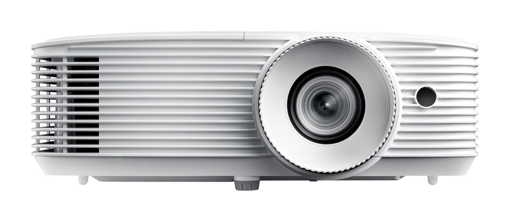 Optoma HD27e data projector 3400 ANSI lumens DLP 1080p (1920x1080) 3D Desktop projector White