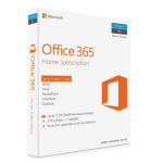 Microsoft Off 365 Home English APAC DM Subscr 1YR Medialess P2
