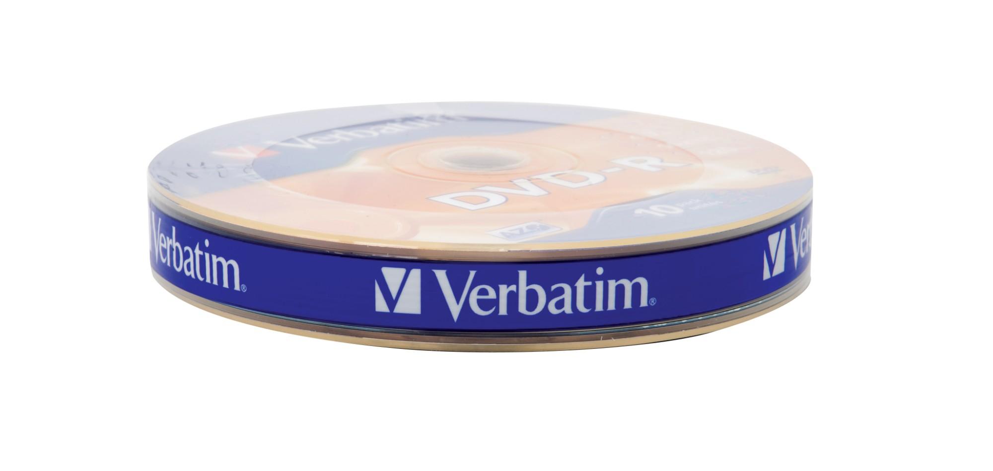 Verbatim DVD-R Matt Silver 16x 4.7 GB 10 pc(s)