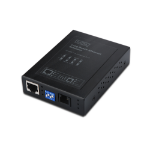 Digitus RJ45 / RJ11 network media converter 40 Mbit/s Black