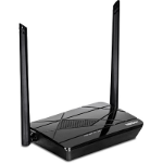 Trendnet N300 Single-band (2.4 GHz) Fast Ethernet Black wireless router