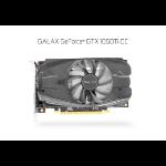 GALAX GeForce GTX 1050 Ti OC 4GB, 128-bit DDR5 - DP 1.4, HDMI 2.0b, Dual Link-DVI-D, 4096x2160
