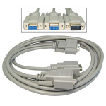 Cables Direct EX-088/1.8 VGA cable 1.8 m VGA (D-Sub) Grey