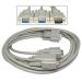 Cables Direct EX-088/1.8 1.8m VGA (D-Sub) VGA (D-Sub) Grey VGA cable
