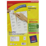 Avery L7159-250 White Self-adhesive label addressing label