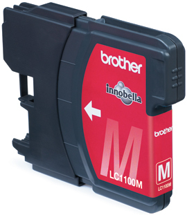 Brother LC-1100M Blister Pack Original Magenta