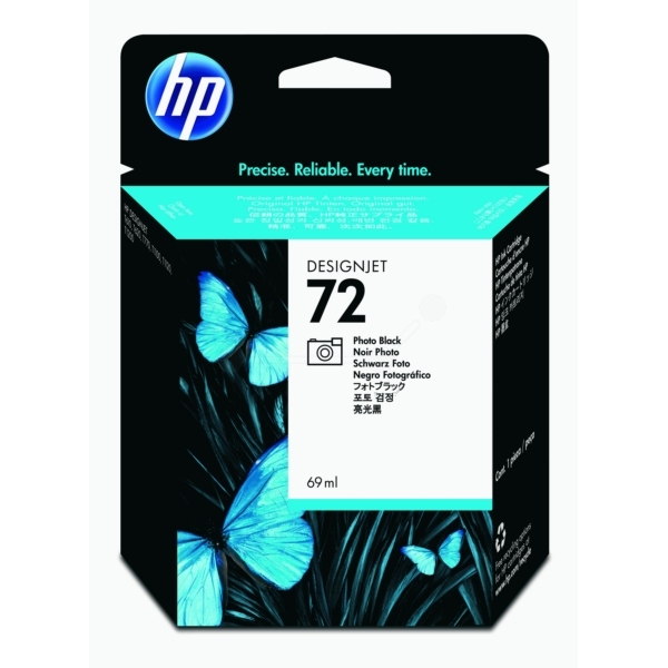 HP C9397A (72) Ink cartridge bright black, 69ml