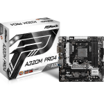 Asrock A320M Pro4 AMD A320 Socket AM4 Micro ATX