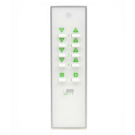 Lightwave LW100WH remote control RF Wireless White Press buttons