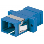 Intellinet 760607 fibre optic adapter SC/SC Blue
