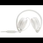 HP H2800 Binaural Head-band White headset