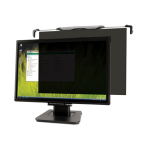 "Kensington FS220 Snap2™ Privacy Screen for 20""-22"" Widescreen Monitors — Black"