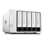 TerraMaster F5-422 NAS/storage server J3455 Ethernet LAN Desktop Grey