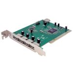 StarTech.com 7 Port PCI USB Card Adapter