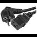 Eaton FR/Schuko - IEC C19, 1.9m 16A, 2 pcs