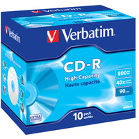 Verbatim CD-R High Capacity CD-R 800MB 10pc(s)