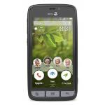 Doro Liberto 8031 Single SIM 4G 8GB Black,Stainless steel