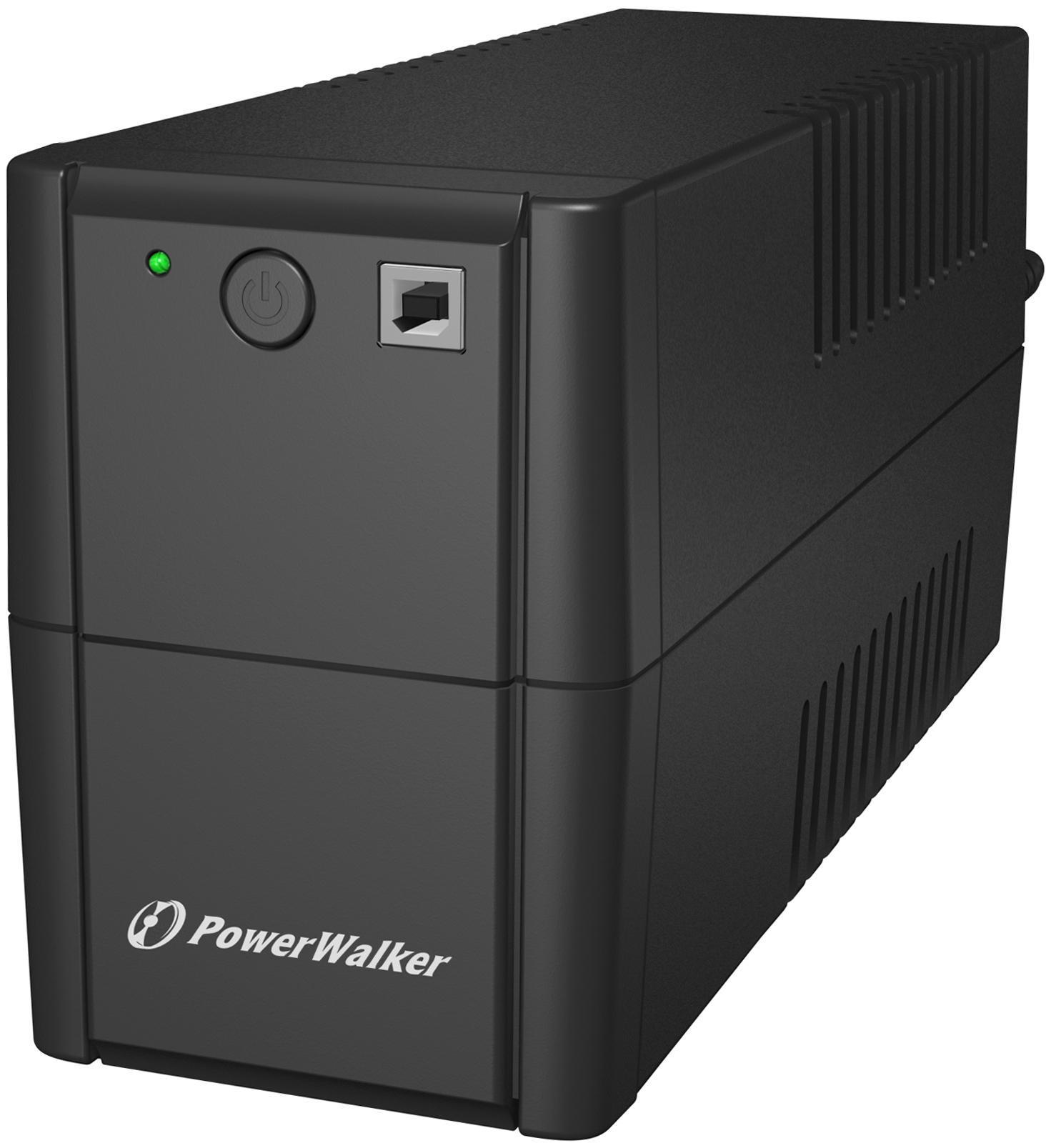 PowerWalker VI 650 SE Line-Interactive 0.65 kVA 360 W 2 AC outlet(s)