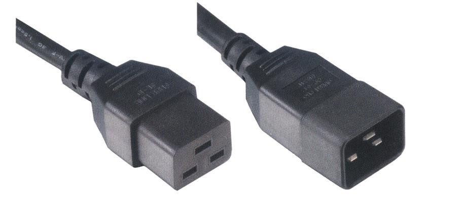 MCL MC911-3M cable de transmisión Negro