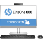 "HP EliteOne 800 G4 60.5 cm (23.8"") 1920 x 1080 pixels Touchscreen 8th gen Intel® Core™ i7 8 GB DDR4-SDRAM 256 GB SSD Windows 10 Pro All-in-One PC Silver"