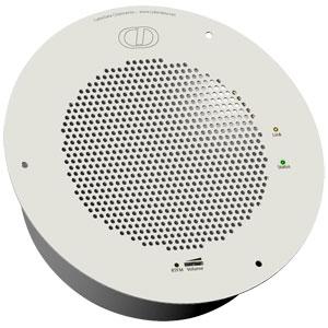 CyberData Systems 011104 10W White loudspeaker
