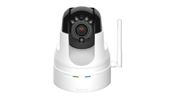 D-link DCS-5222L Pan & Tilt Wireless Indoor Cloud PTZ Security Surveillance Camera 10x Digital Zoom Built-in Microphone & Speaker for 2-Way communication UK
