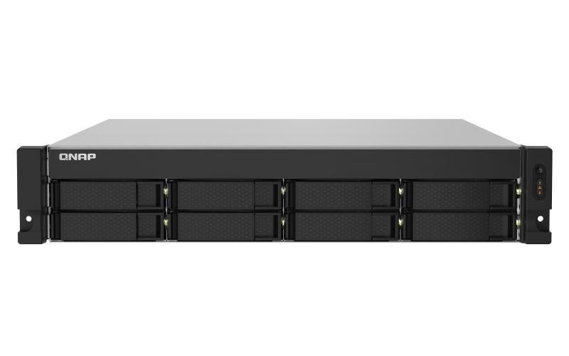 QNAP TS-832PXU AL324 Ethernet Bastidor (2U) Negro NAS